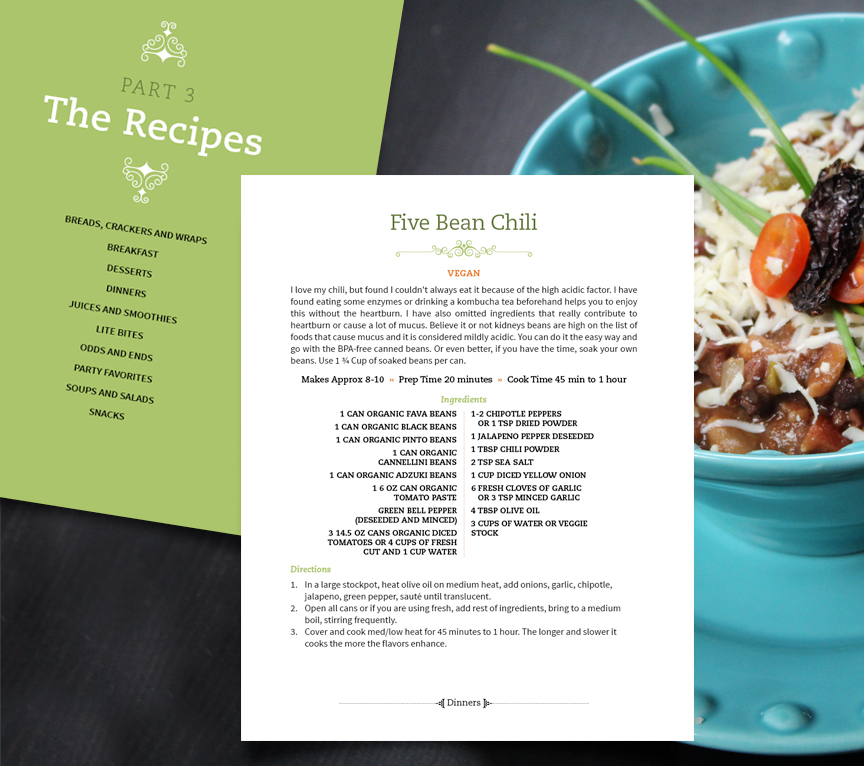 Best practices for designing your cookbook | TeaBerry Creative